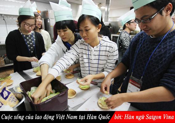 SGV, Cuộc sống của lao động Việt Nam tại Hàn Quốc