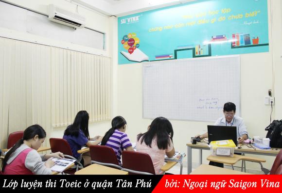 luyen thi toeic Tan Phu