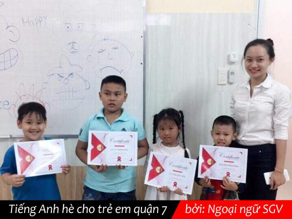 SGV, Tieng Anh he cho tre em quạn 7