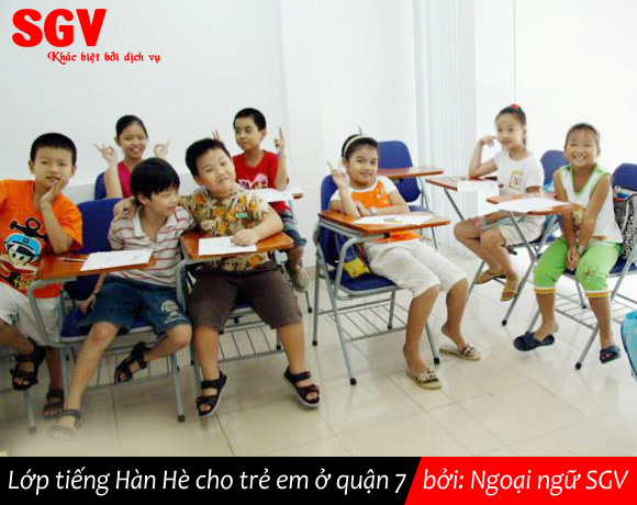 SGV, Tiếng Hàn Hè cho trẻ em ở quận 7