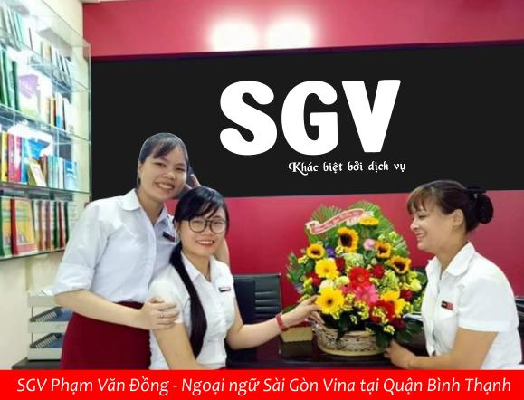 ngoai ngu SGV tai pham van dong