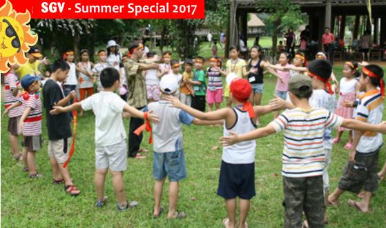 học hè bán trú 2017 hoạt động ngoại khoá