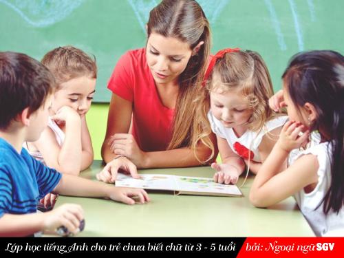 Sài Gòn Vina, Tiếng Anh cho trẻ chưa biết chữ
