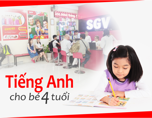 trung tam tieng anh danh cho be 4 tuoi
