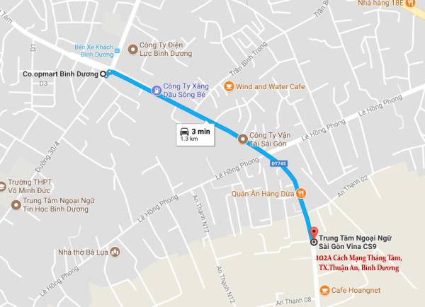 Sài Gòn Vina, Địa điểm học tiếng Hoa ở Thủ Dầu Một tốt