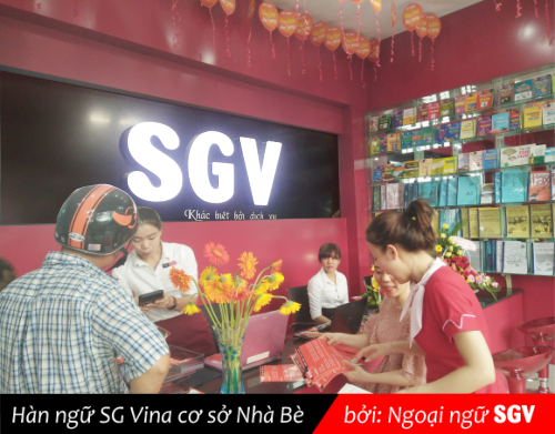 SGV, han ngu sg vina co so nha be