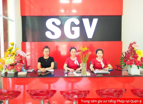SGV, hoc tieng phap o sgv quan 9