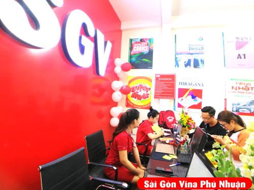saigonvina, Gia sư tiếng Anh cho người đi làm quận Phú Nhuận