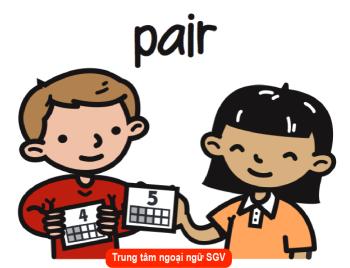 Định nghĩa và cách dùng Pare và Pair