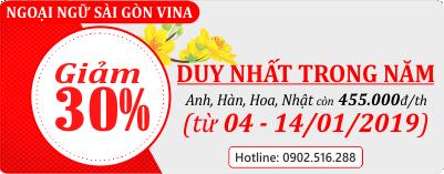Giảm giá Sài Gòn Vina
