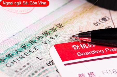 Thủ tục xin VISA đi du học Trung Quốc
