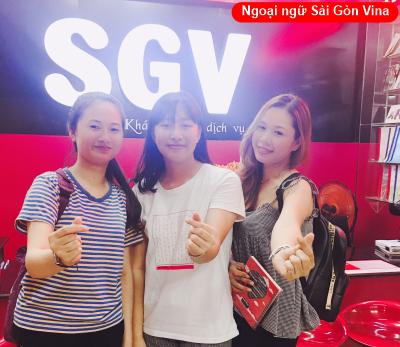 SGV, trung tam tieng trung saigon vina go vap