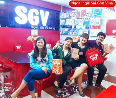 SGV, trung tam luyen thi toeic saigon vina quan thu duc