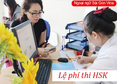 SGV, le phi thi hsk