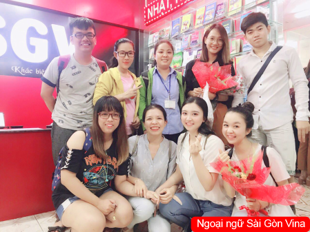 SGV,  trung tâm tiếng Hoa SaiGon Vina