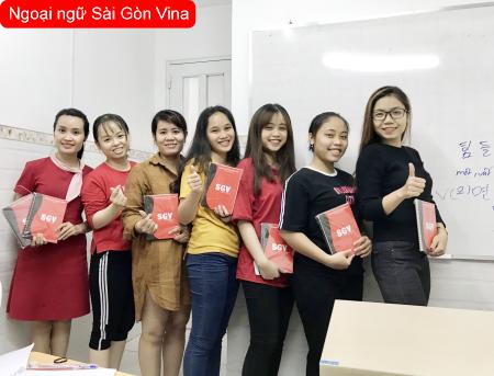 Học tiếng Hàn Sài Gòn Vina tốt nhất, sgv