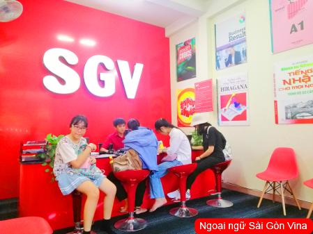 SGV, trung tâm ngoại ngữ nha trang day tiếng anh  hàn hoa nhật