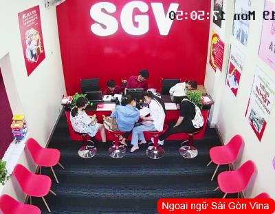 SGV, trung tâm tiếng anh tại thành phố nha trang