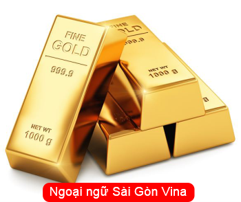 Từ vựng tiếng Hàn về vàng bạc