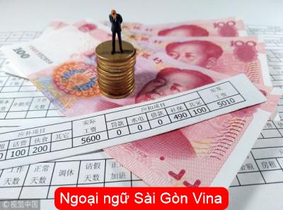 Từ vựng tiếng Hoa chủ đề tiền lương