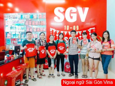 Sài Gòn Vina, Gia sư Toeic, IELTS, Toefl iBT Đà Nẵng