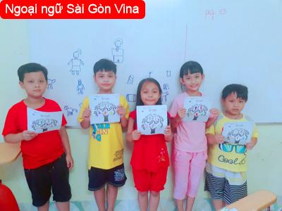 Sài Gòn Vina, Dạy kèm tiếng Anh trẻ em ở Thanh Khê, Đà Nẵng