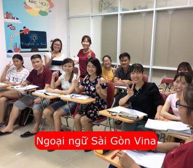 Sài Gòn Vina, Học ngoại ngữ ở trung tâm Sài Gòn Vina như thế nào?