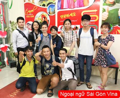 SGV, Sinh viên ngoại ngữ thực tập tại Tp Hồ Chí Minh
