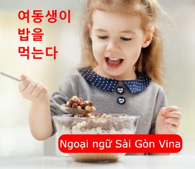 Động từ tiếng Hàn thì hiện tại và quá khứ