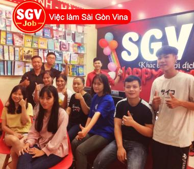 SGV, Nhận sinh viên chuyên ngành tiếng Anh ở Quận Bình Thạnh