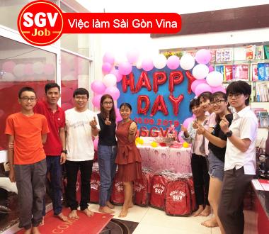 SGV, Nhận thực tập sinh gần CV phần mềm Quang Trung