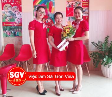 SGV, Tuyển nhân viên tư vấn ngoại ngữ SGV Thủ Đức