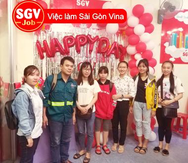 SGV, Nhận sinh viên ngôn ngữ Hoa, Hàn thực tập tại Bình Dương