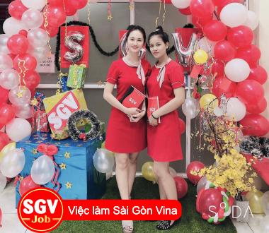 SGV, Tuyển nhân viên làm việc tại Quận Bình Thạnh