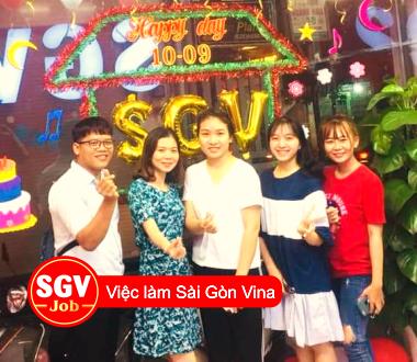 SGV, Quận Phú Nhuận tuyển nhân viên Dịch vụ khách hàng