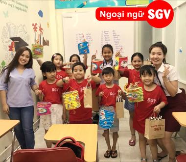 SGV, Trung tâm dạy tiếng Anh trẻ em tốt nhất Đà Nẵng