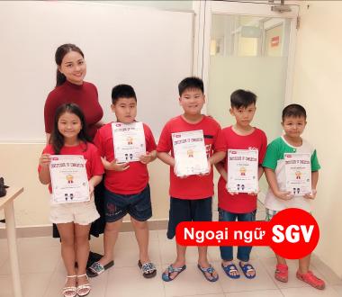 SGV, Trung tâm tiếng Anh trẻ em tốt ở quận 2
