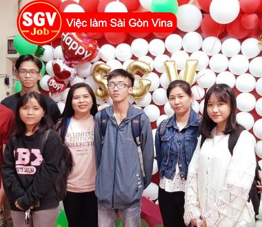 SGV, Nhận sinh viên ngành tiếng Trung thực tập tại huyện Hóc Môn