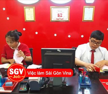 SGV, Gò Vấp tuyển nhân viên văn phòng làm ca tối