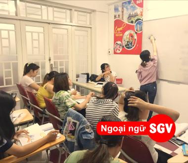 Sài Gòn Vina, 10 trung tâm tiếng Anh chất lượng ở quận 5