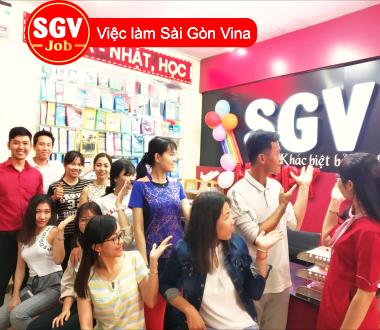 SGV, Quận 1, TP.HCM nhận sinh viên thực tập chuyên ngành ngôn ngữ
