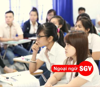 Sài Gòn Vina, trung tâm tiếng Anh giao tiếp tốt nhất ở Hố Nai 3, Biên Hoà.