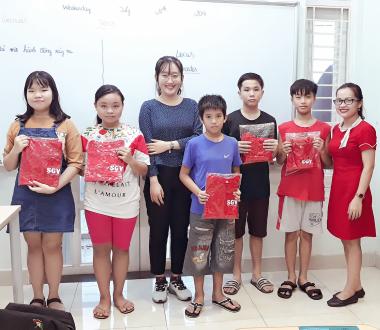 SGV, Sài Gòn Vina, trung tâm dạy tiếng Anh trẻ em tốt nhất Hố Nai 3, Biên Hoà