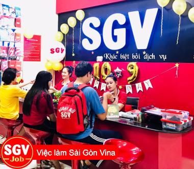 SGV, Cần nhân viên bán thời gian làm 4 tiếng/ngày  ở Tân Phú