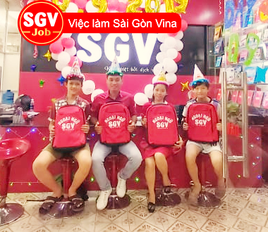 SGV, Tuyển gấp nhân viên làm việc ở  Gò Vấp