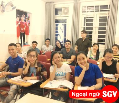 SGV, Học tiếng Hàn ở Dĩ An, Bình Dương