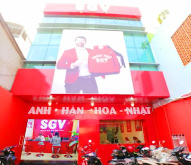 SGV, Sài Gòn Vina Top trung tâm tiếng Anh quận 5