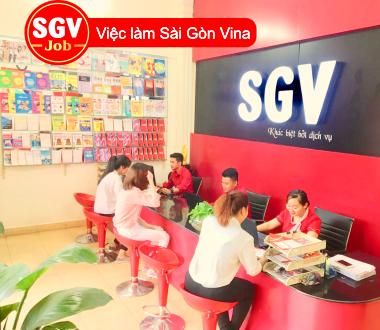 SGV, Tuyển nhân viên văn phòng ca tối ở quận 8