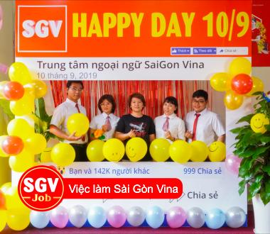 SGV, Tuyển nhân viên viết bài lương cao tại Phú Nhuận