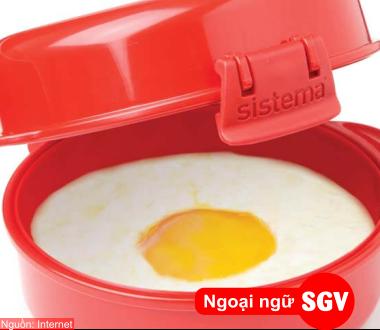 SGV, Phân biệt steam, boil và poach